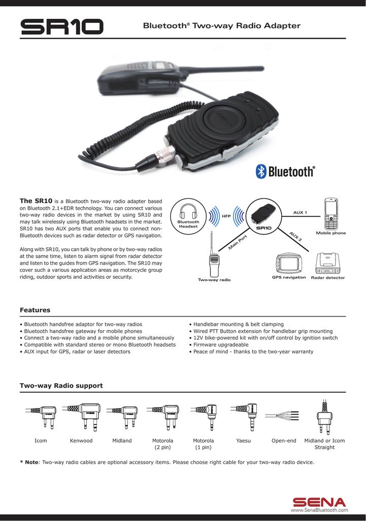 Bluetooth Two Way Radio Adapter Manualzz