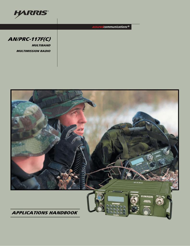 AN/PRC-117F(C) Multiband Multimission Radio Applications