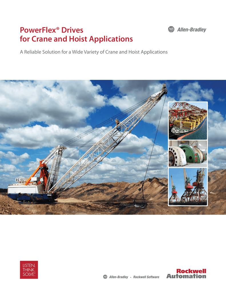 PowerFlex Drives for Crane and Hoist Applications | manualzz com