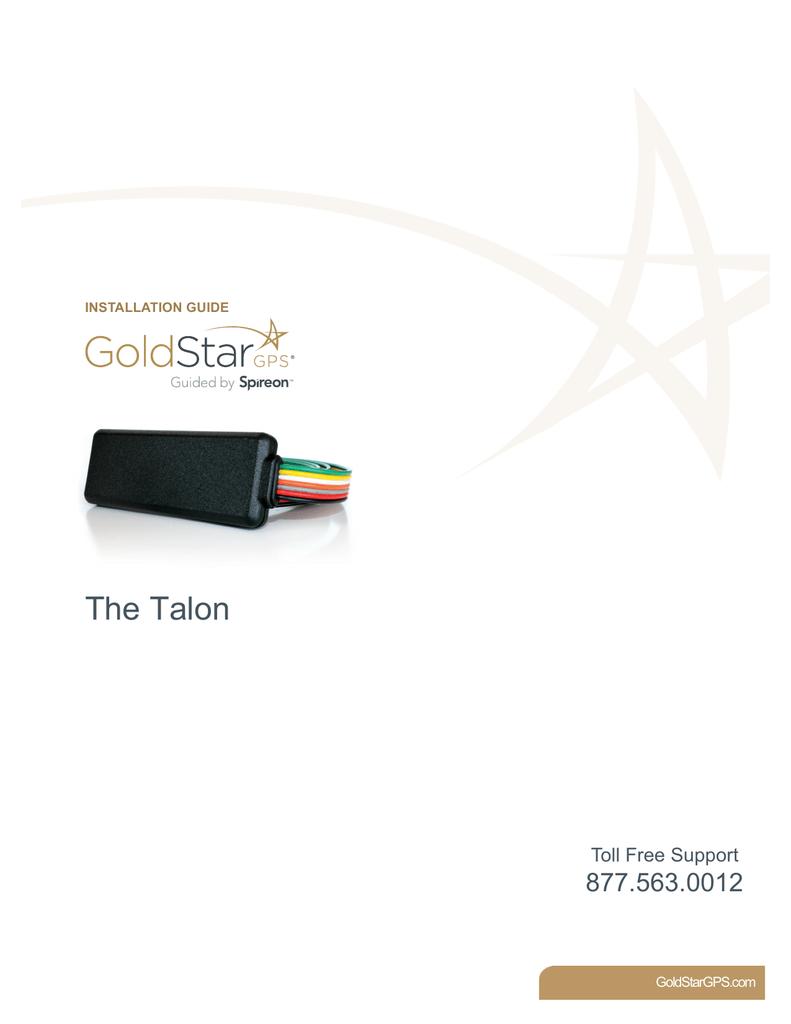 The Talon GPS Hardware Installation Guide | Manualzzmanualzz