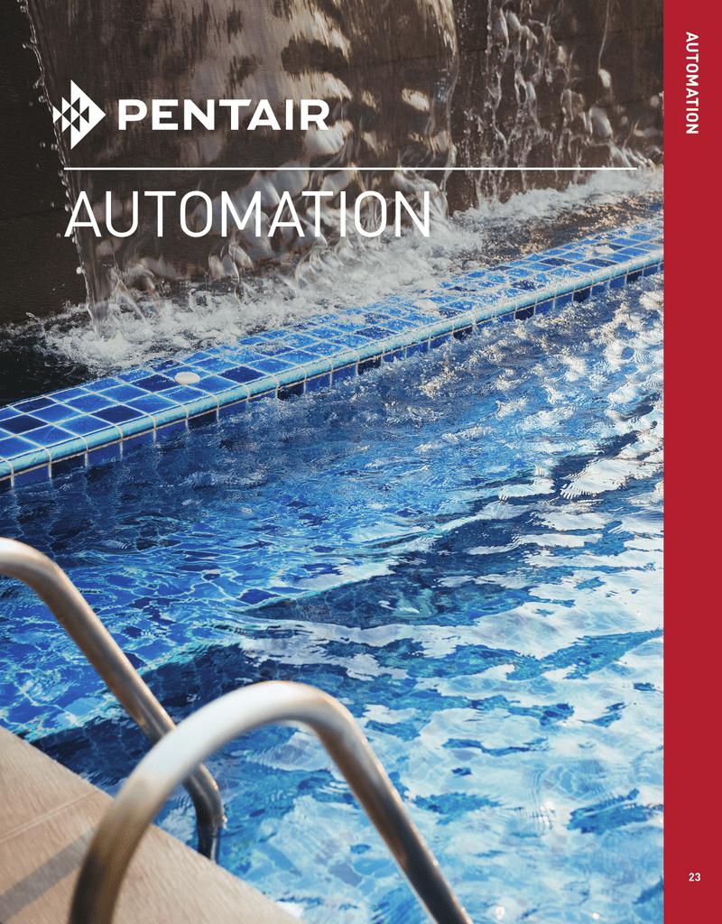 automation - Pentair Partners | manualzz com