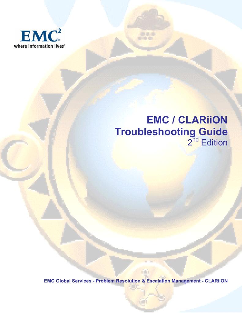 EMC / CLARiiON Troubleshooting Guide | manualzz com