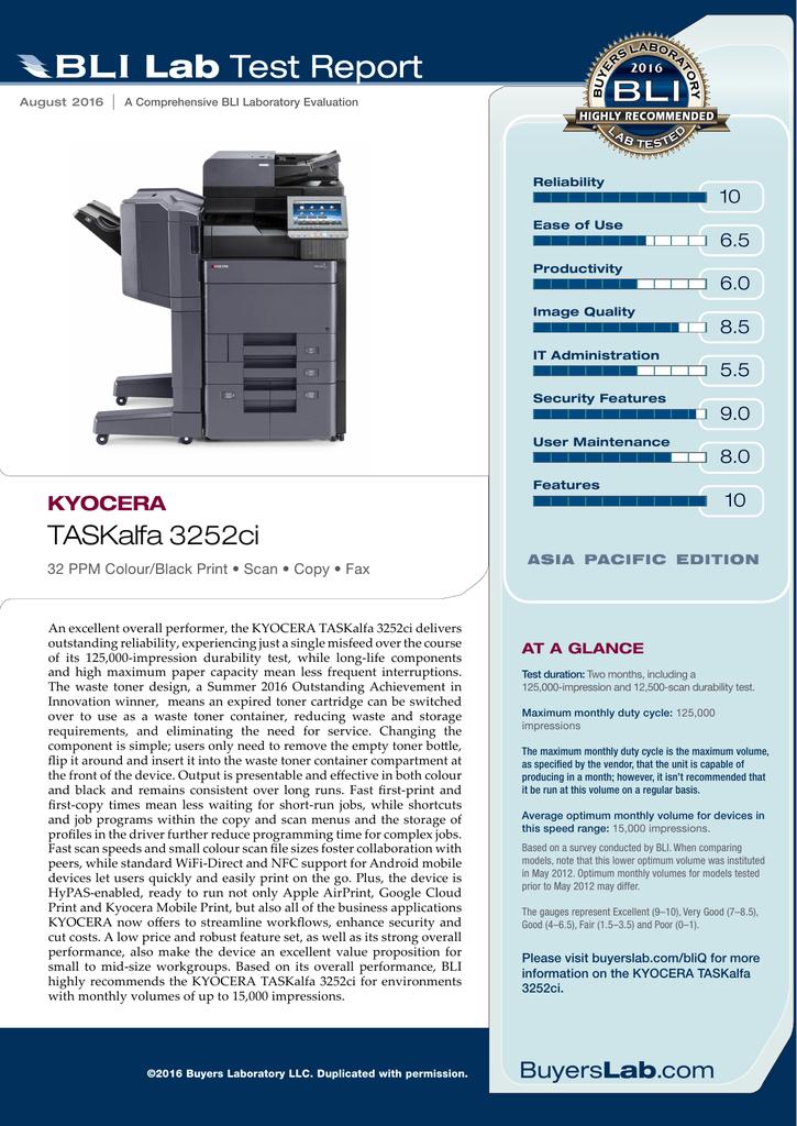 TASKalfa 3252ci - KYOCERA Document Solutions | manualzz com