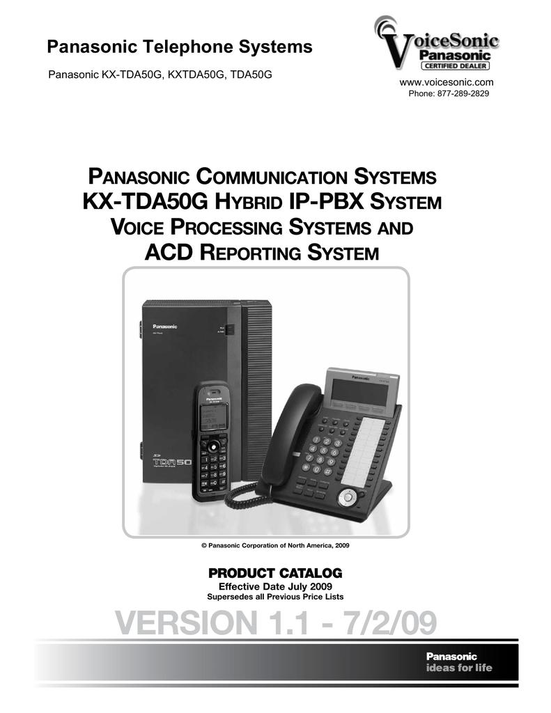 kx tda50g manual