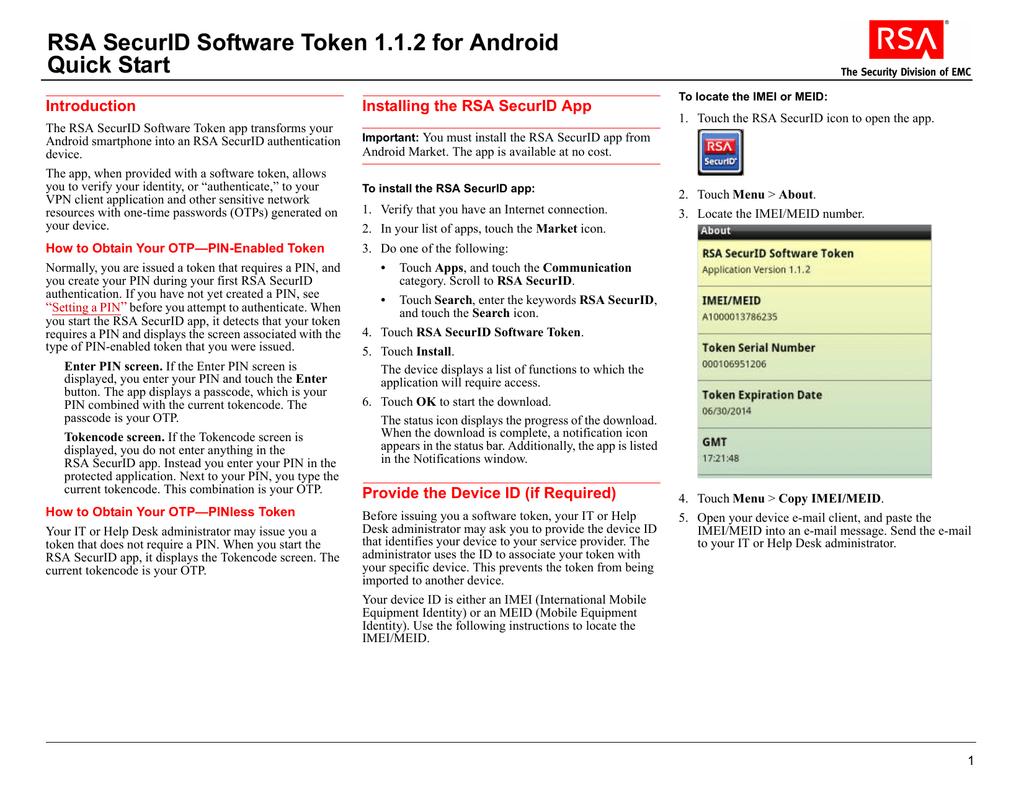 RSA SecurID SID700 - hardware token Series Specs & Prices