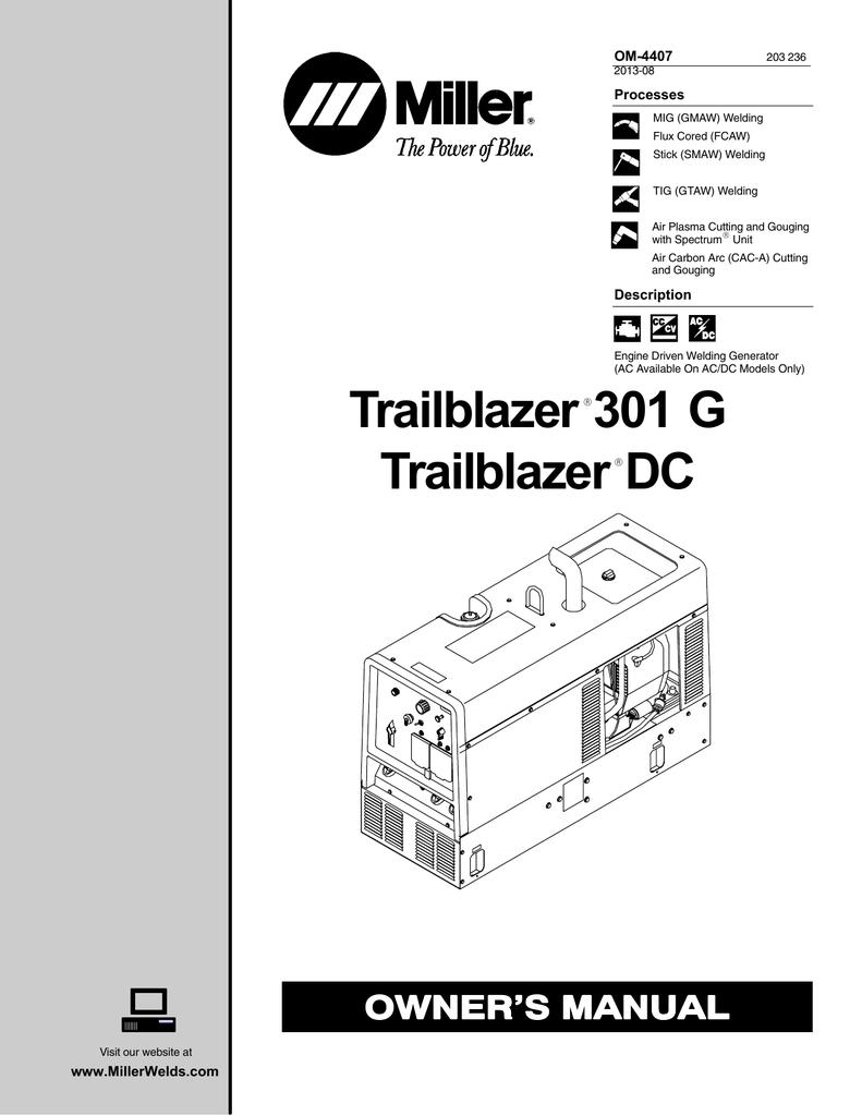 Trailblazer 301 G Dc Hot Water 250dc Fuse Box