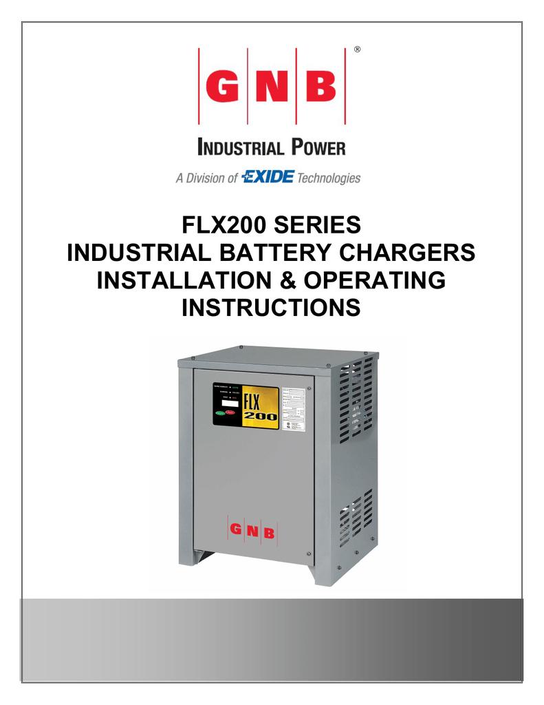 flx200 series industrial battery chargers manualzz com rh manualzz com