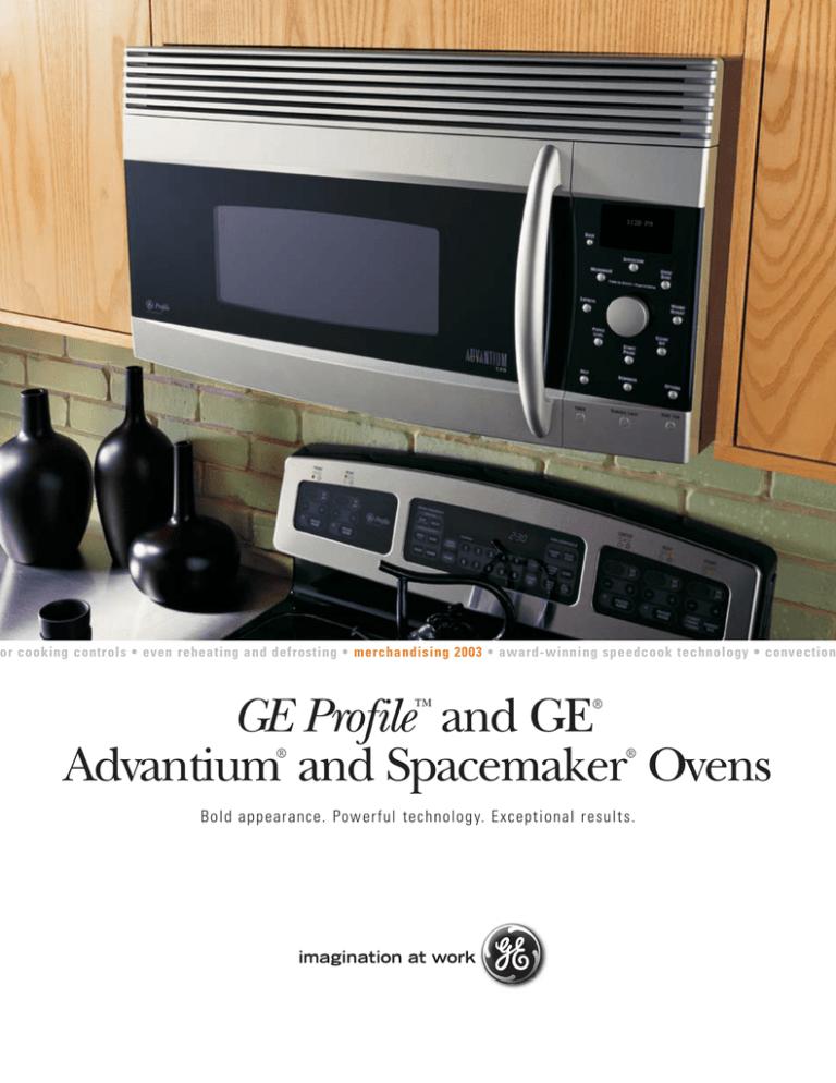 Ge Profile And Advantium