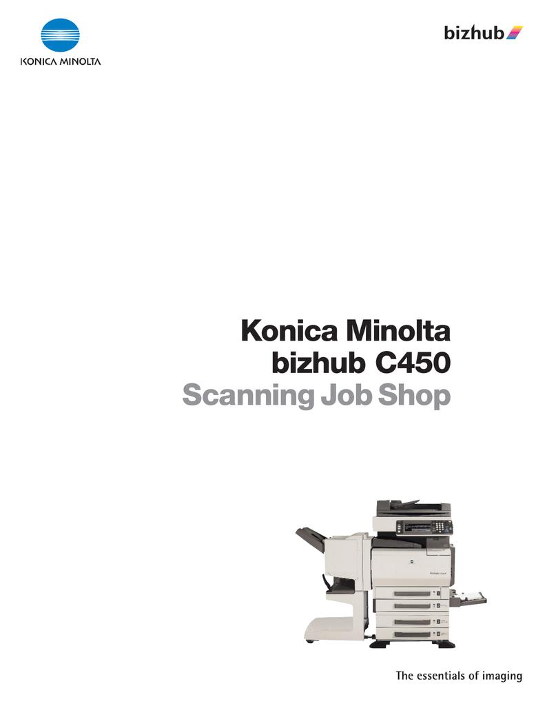 Scanning - Konica Minolta Business Solutions | manualzz com