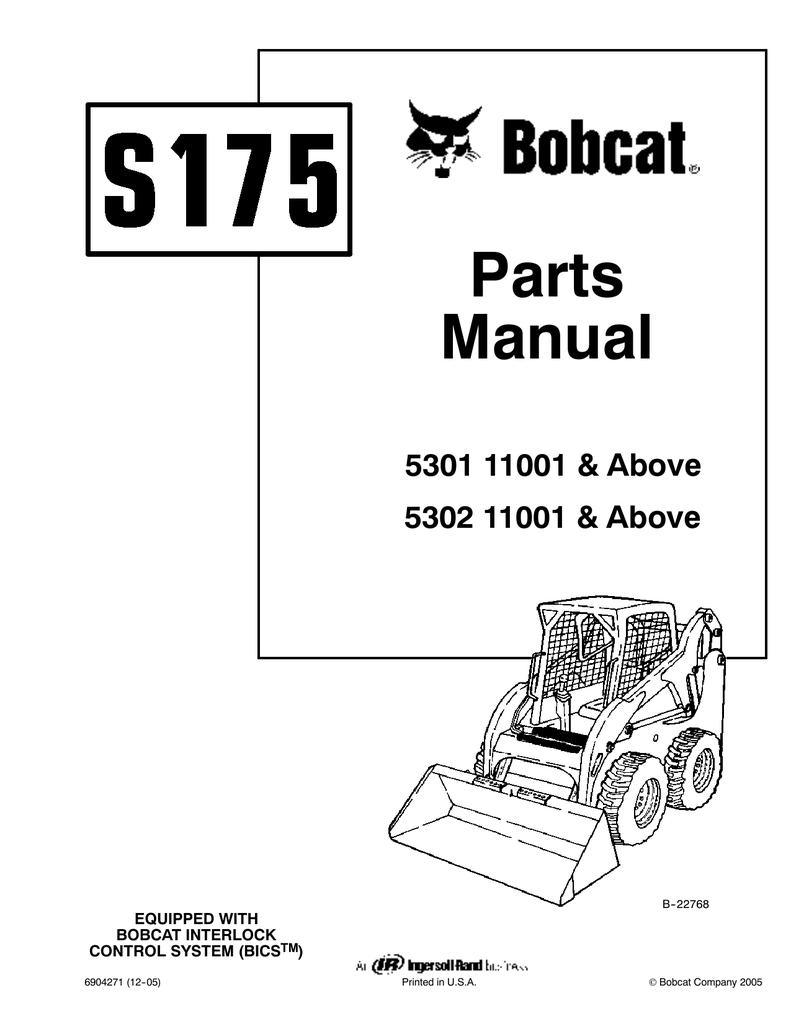Bobcat S185 Wiring Diagram Schematics 610 Skid Steer Parts Schematic Diagrams T320