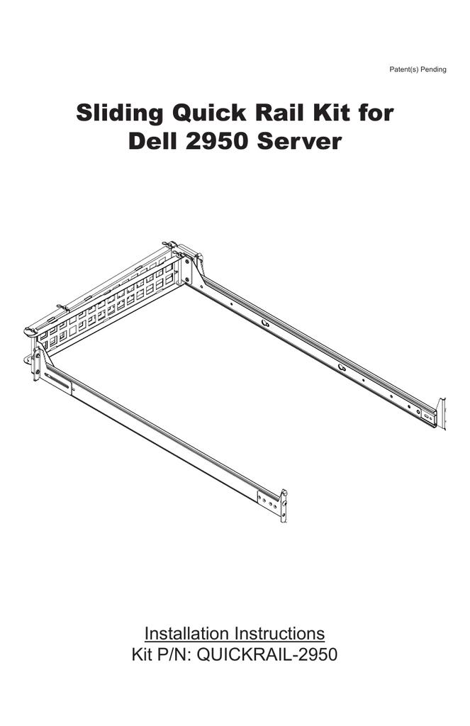 [SCHEMATICS_4CA]  Sliding Quick Rail Kit for Dell 2950 Server | Manualzz | Dell Poweredge 2950 Wiring Diagram |  | manualzz