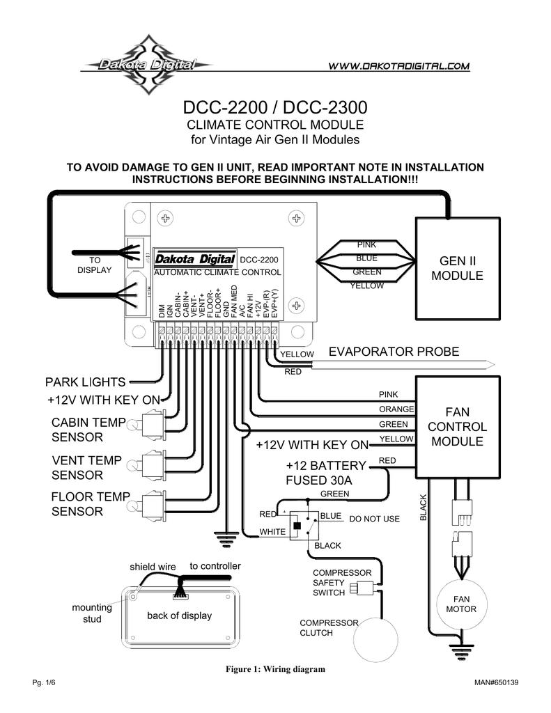 [SCHEMATICS_44OR]  Climate control manual | Manualzz | Vintage Air Gen Ii Wiring Diagram |  | manualzz