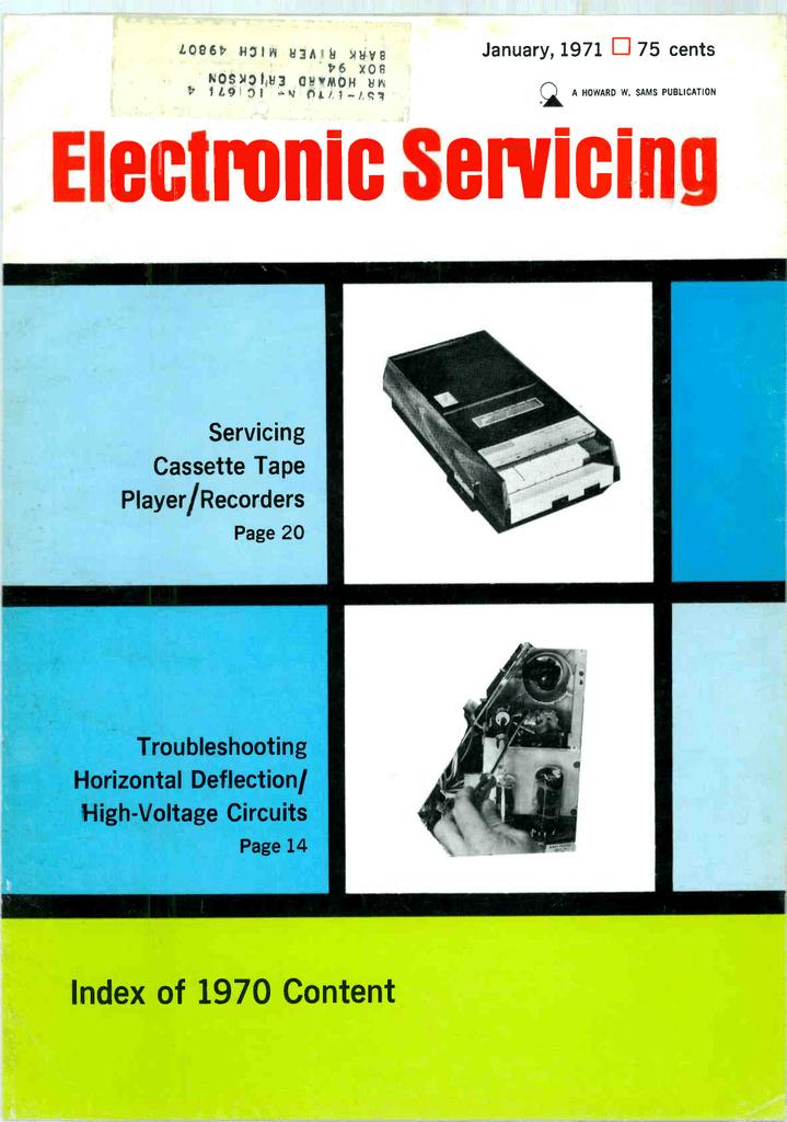 Electronic Serìcìng - American Radio History | manualzz.com