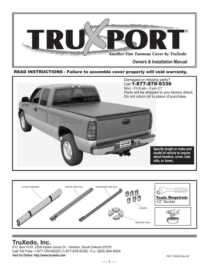 Truxport Manual Manualzz
