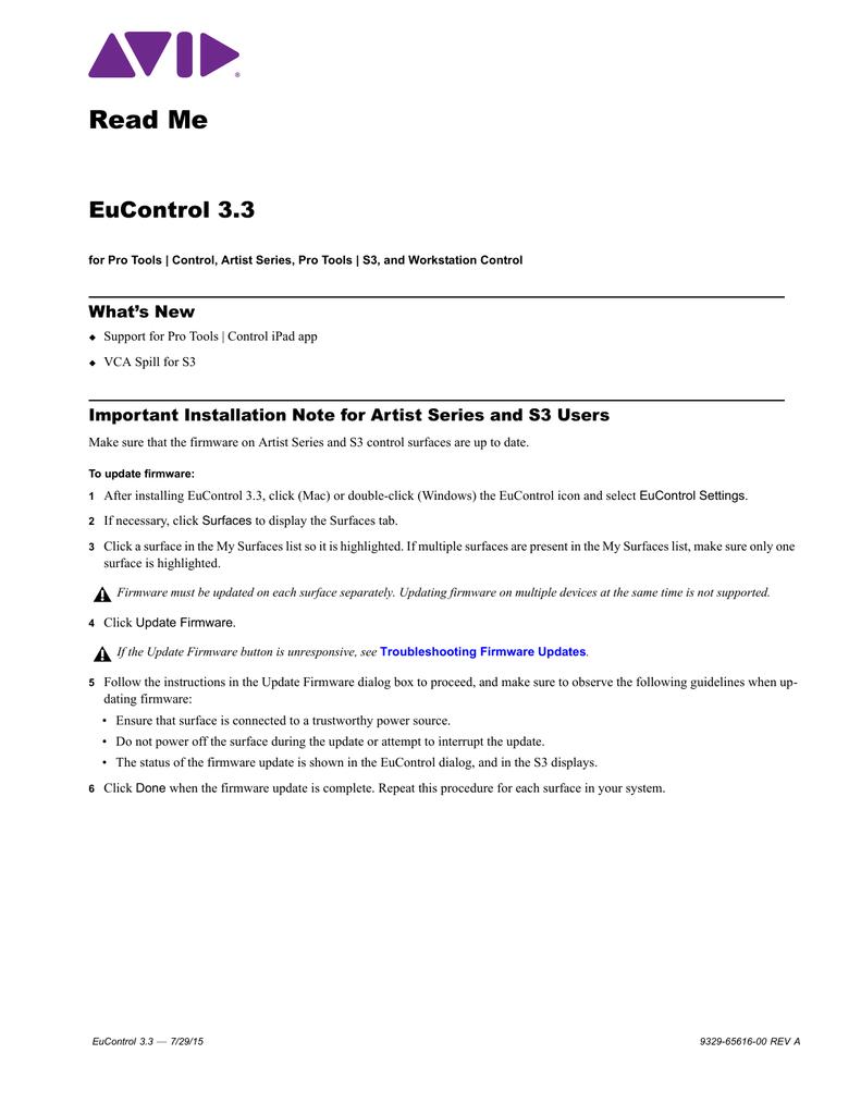 EuControl 3 3 Read Me - akmedia [bleep] | manualzz com