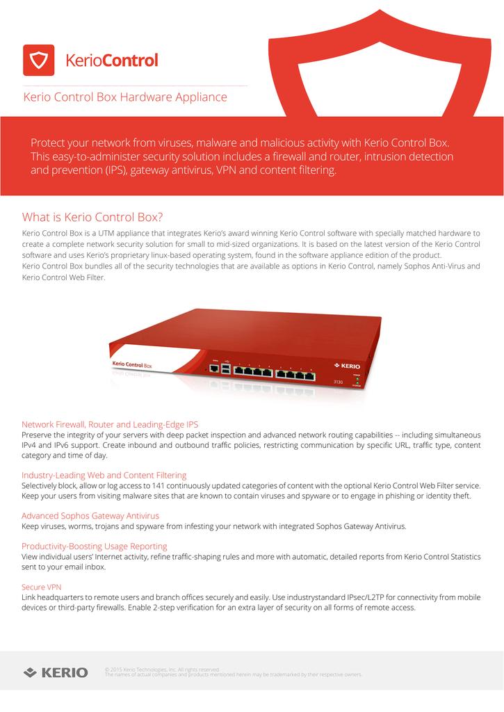 Kerio-Control-Box | manualzz com