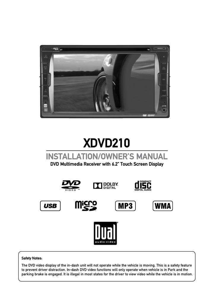 XDVD210 - Dual Electronics   manualzz com