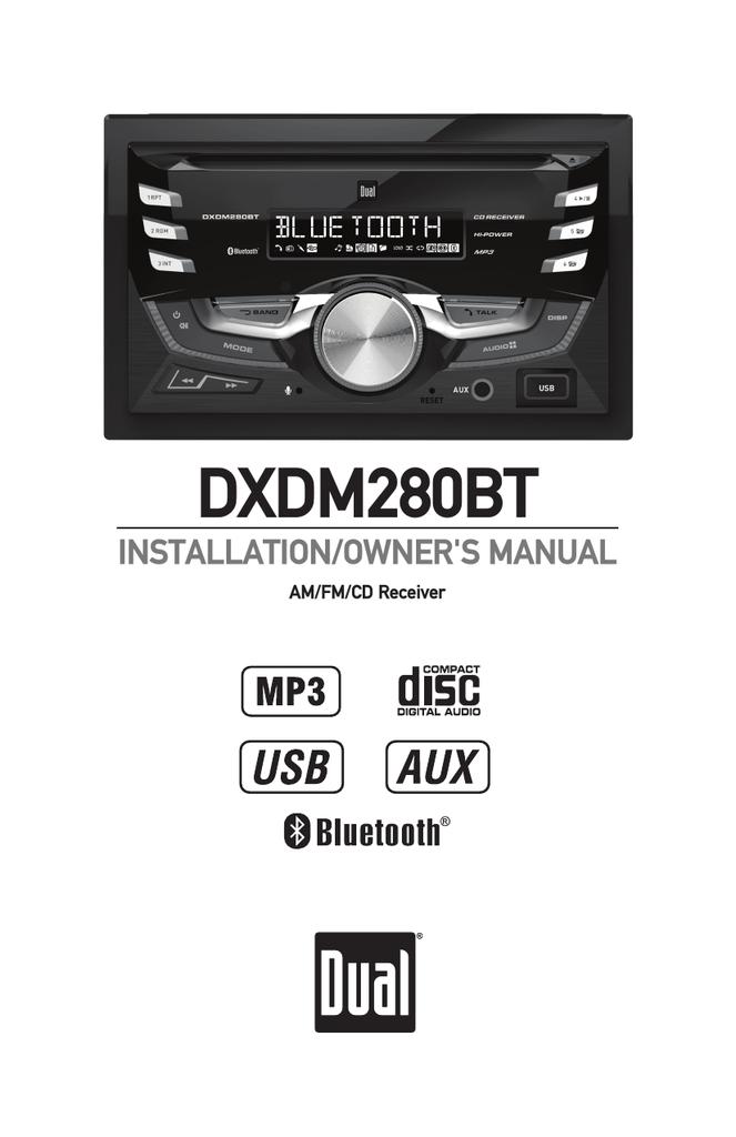 DXDM280BT - Dual Electronics | manualzz com