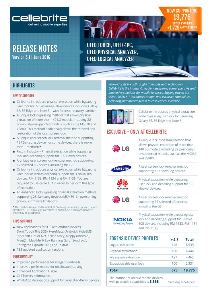 release notes   manualzz com