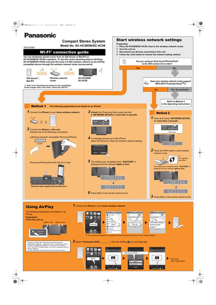 Panasonic SCHC58EG User manual | manualzz com