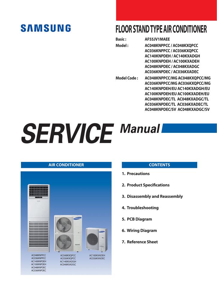 FLOOR STAND TYPE AIR CONDITIONER | manualzz com