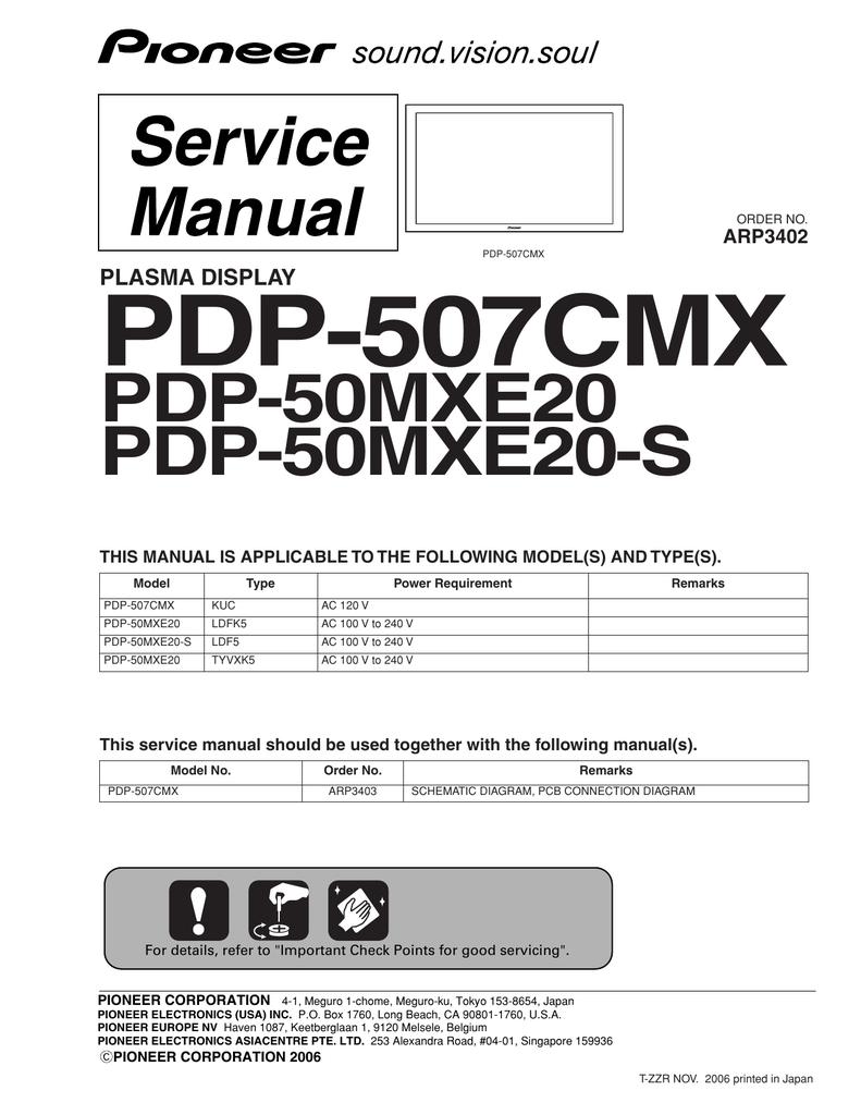 Pioneer Pf630-34 Auto Part