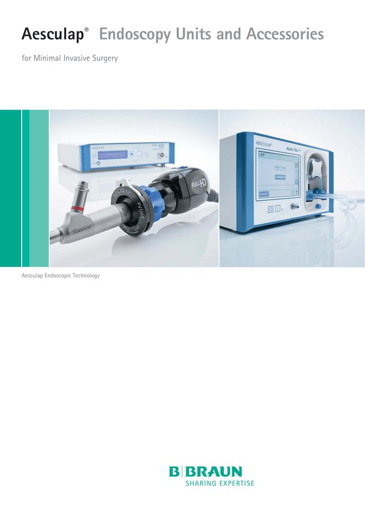 Endoscopy Unit: Aesculap® Endoscopy Units And Accessories