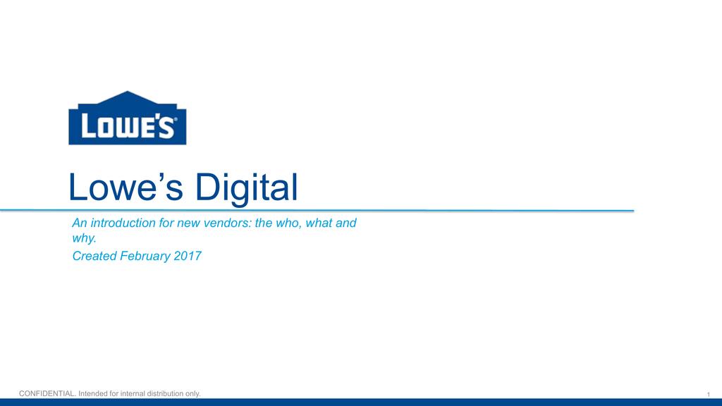 Lowe`s Digital Onboarding | manualzz com