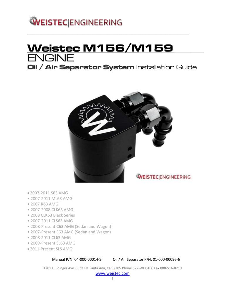 Weistec M156/M159 ENGINE | manualzz com