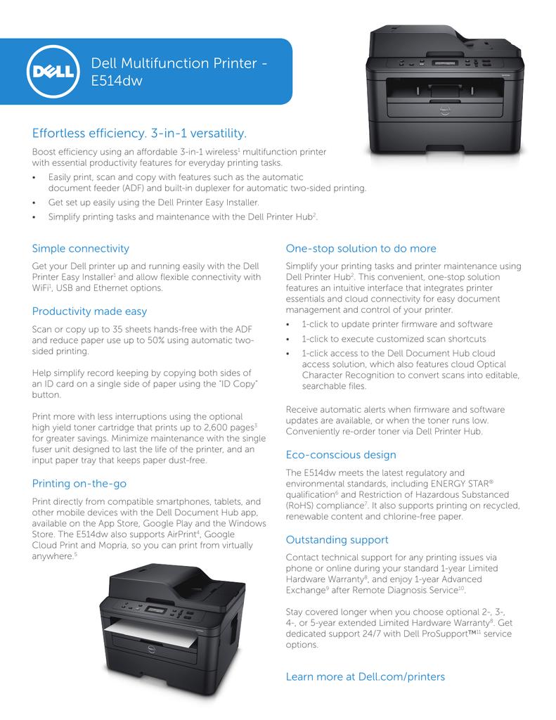 Dell Multifunction Printer | manualzz com