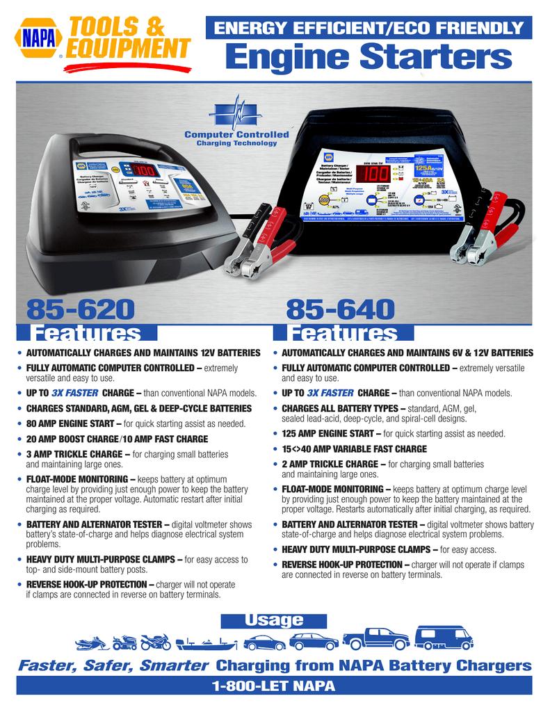 NAPA 85-620_640_Sell Sheet | manualzz.com on