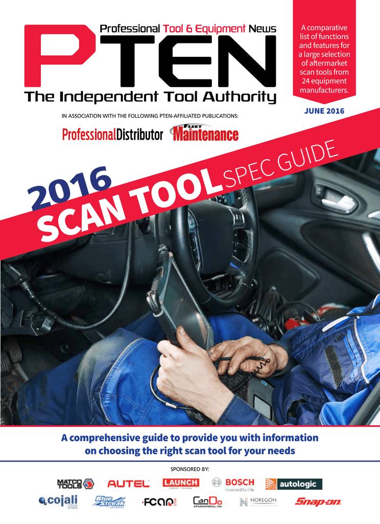 SCAN TOOL - Vehicle Service Pros | manualzz com