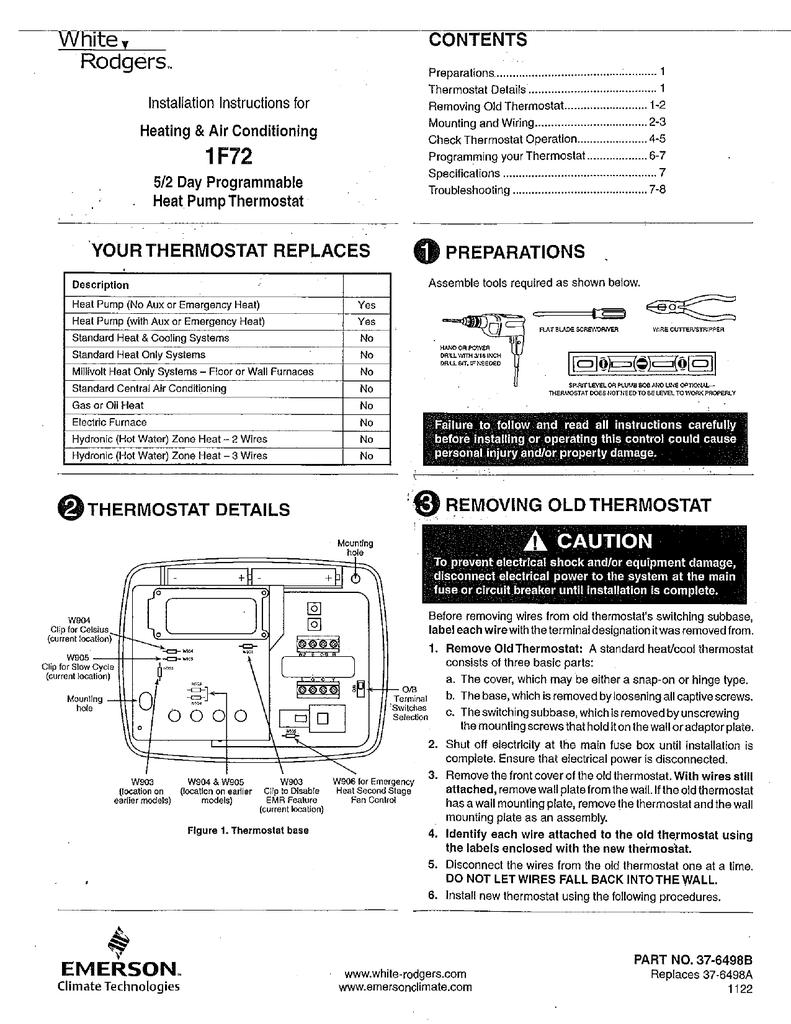 Nta 1 Thermostat Wiring Diagram