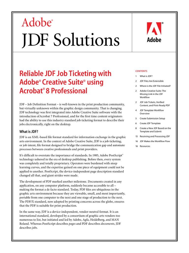 JDF Solutions   manualzz com