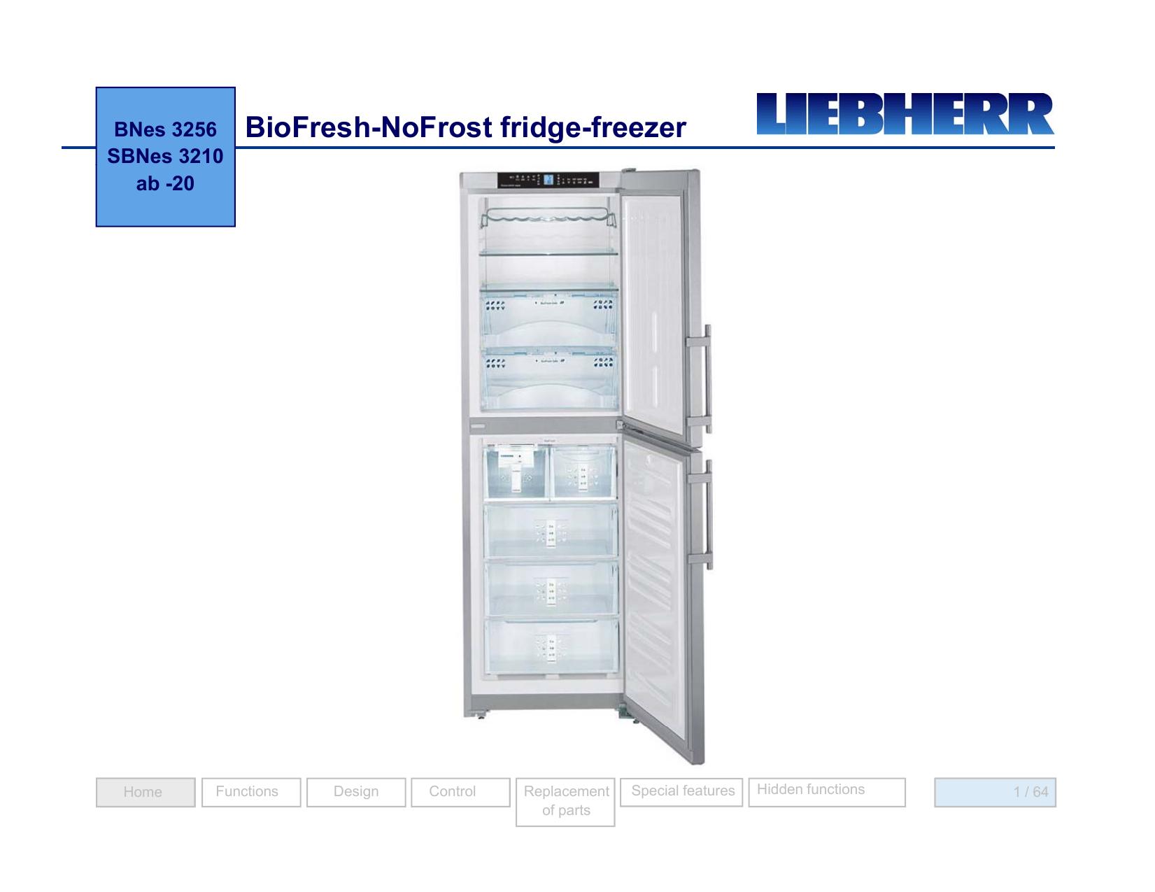 BioFresh-NoFrost fridge-freezer - Andi-Co | manualzz com