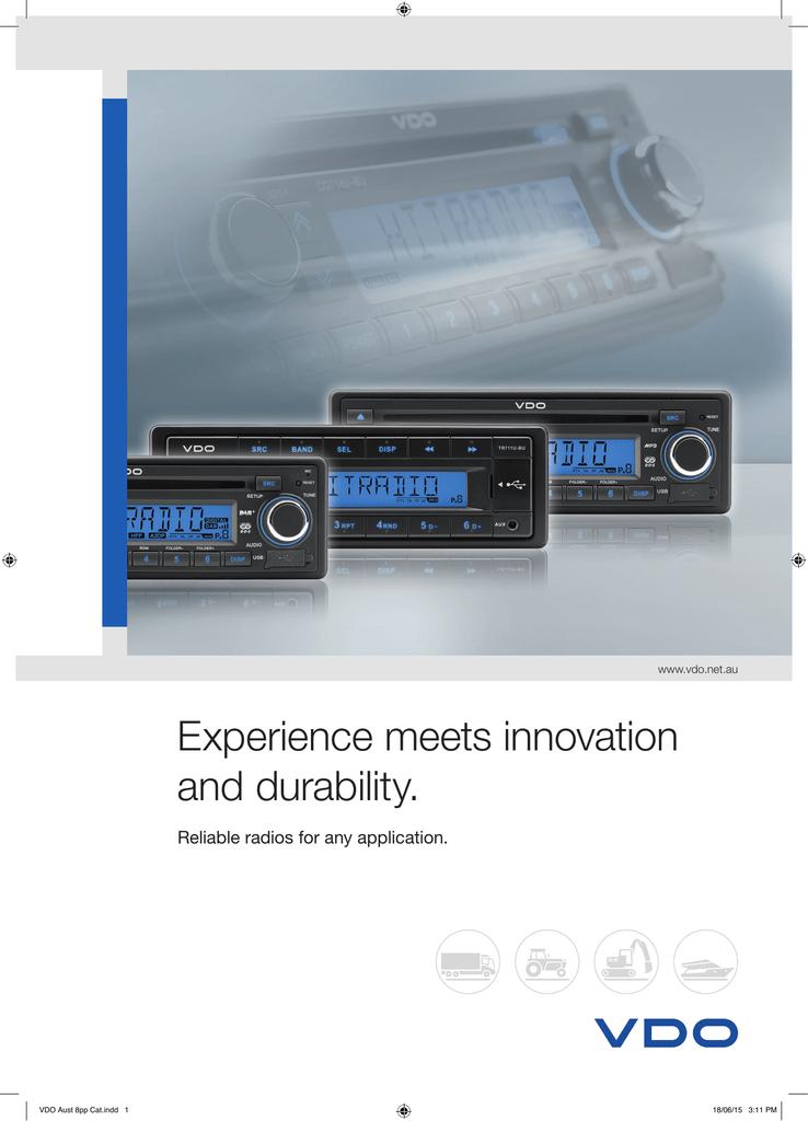 Siemens VDO VDO TR712UB-BU Media-Tuner//AUX//USB//Bluetoot