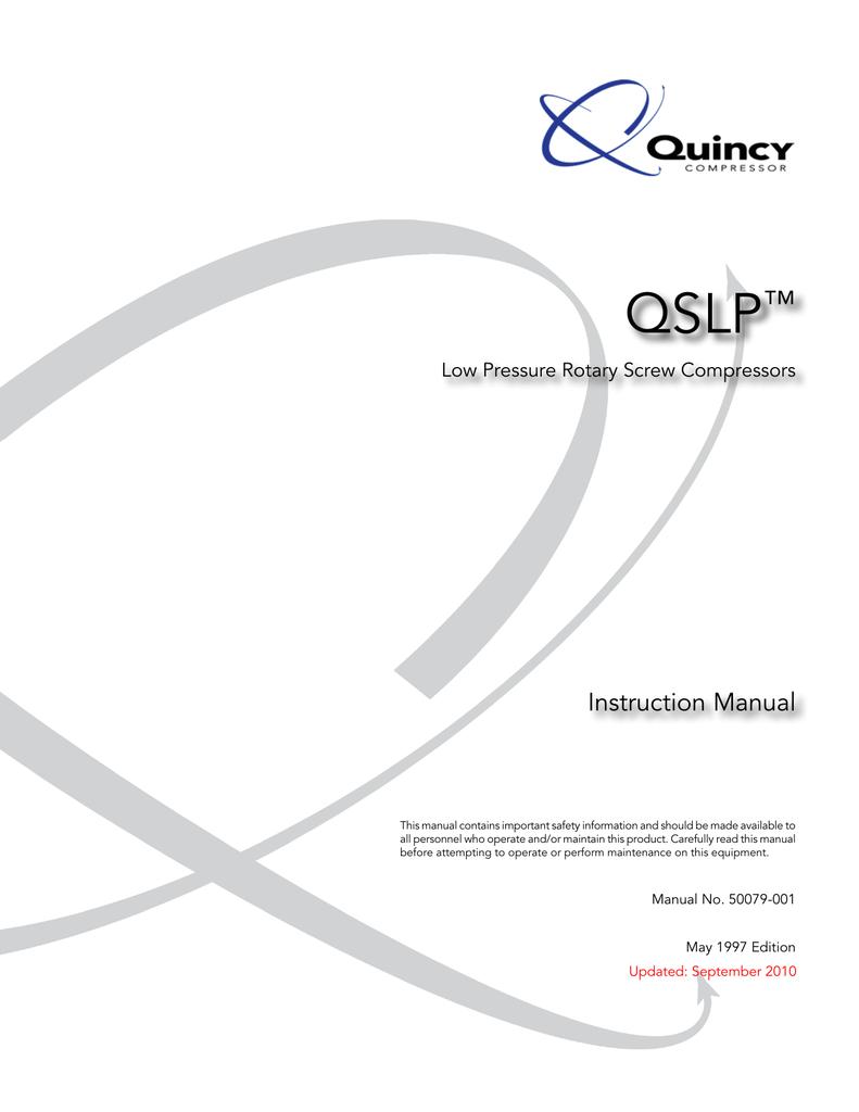 Quincy Compressor Wiring Diagram