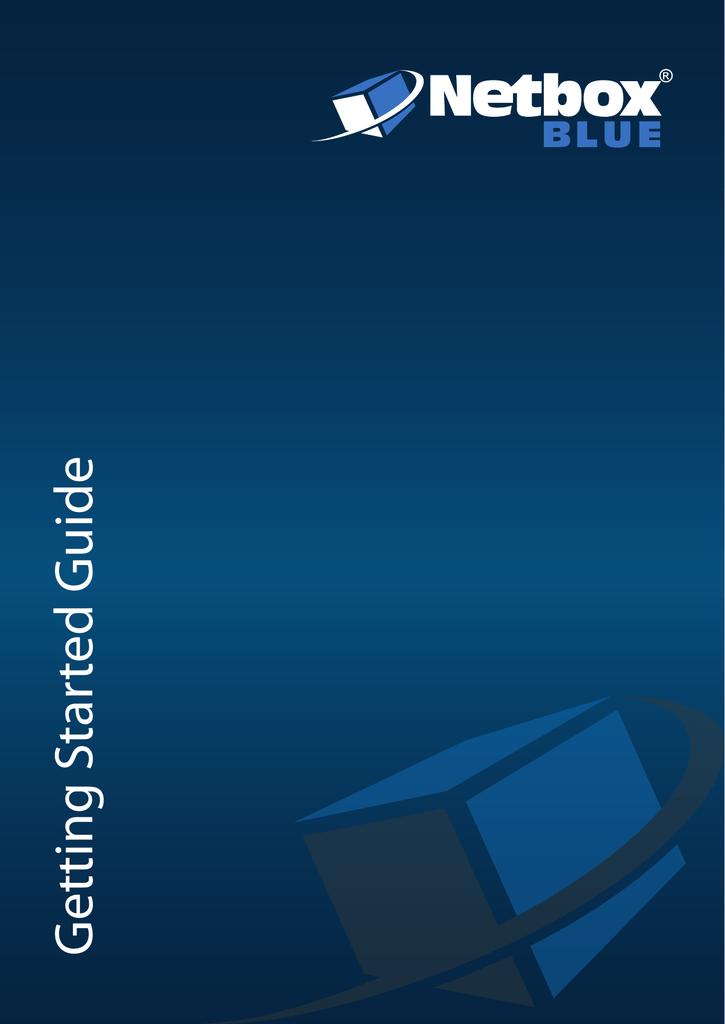 G etting Started Guide | manualzz com