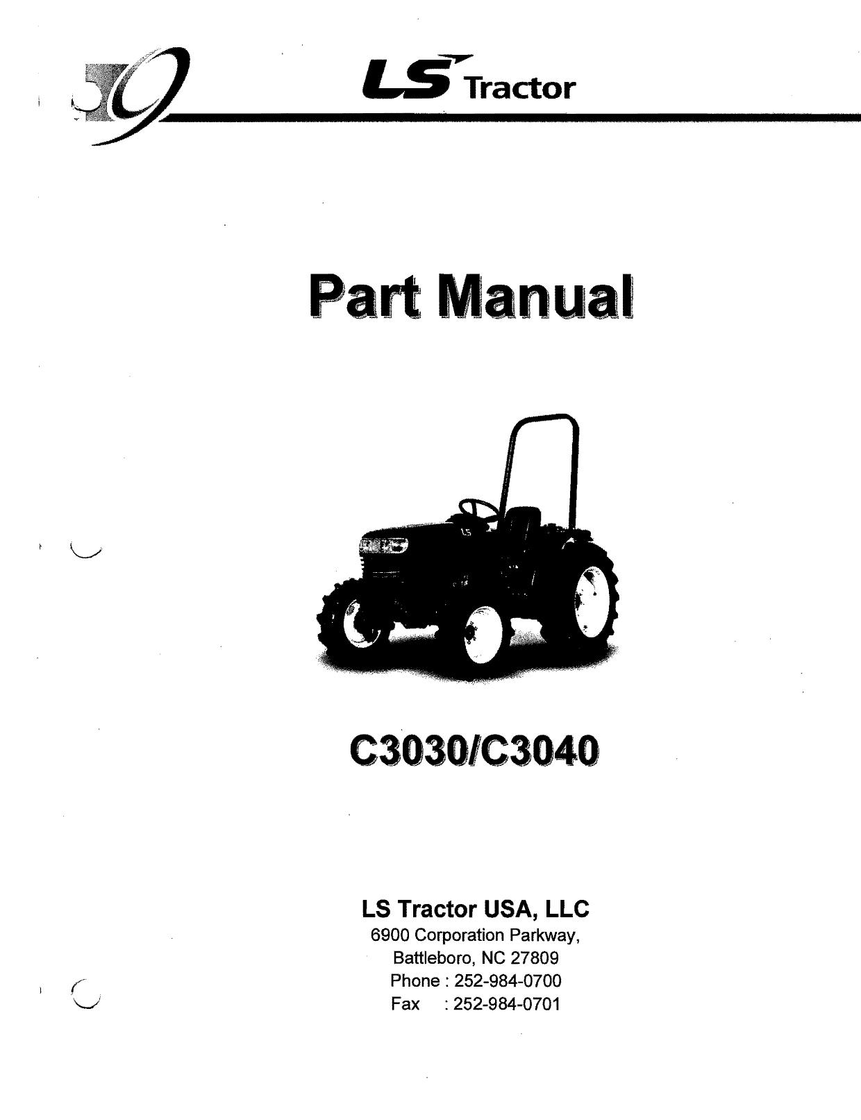 a `Manual - Parts for LS Tractors | manualzz com