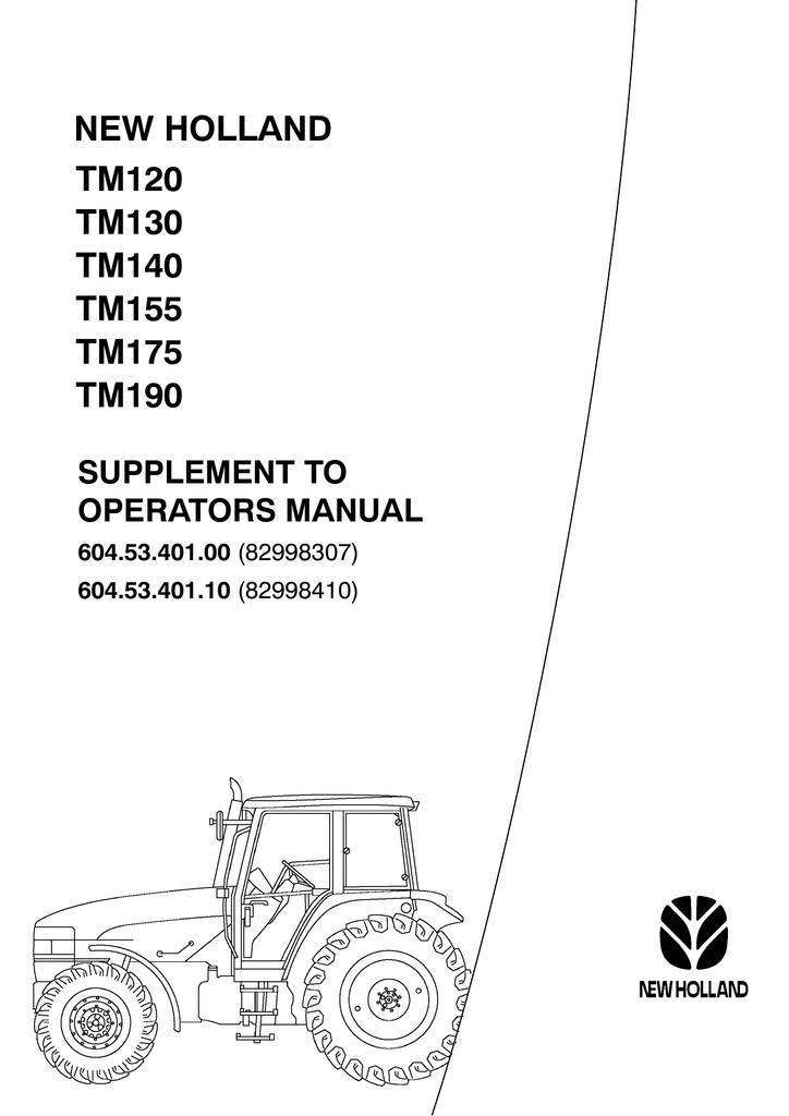 new holland tm120 tm130 tm140 tm155 tm175 tm190 | manualzz com