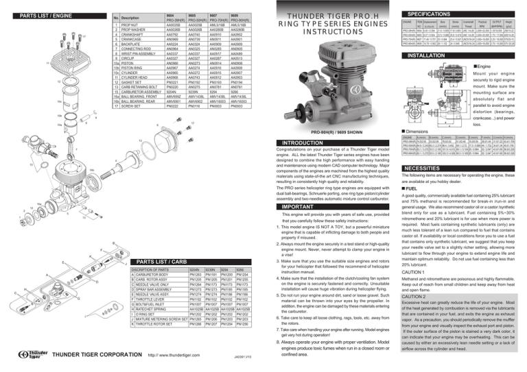 Carburetor Assembly GP-42