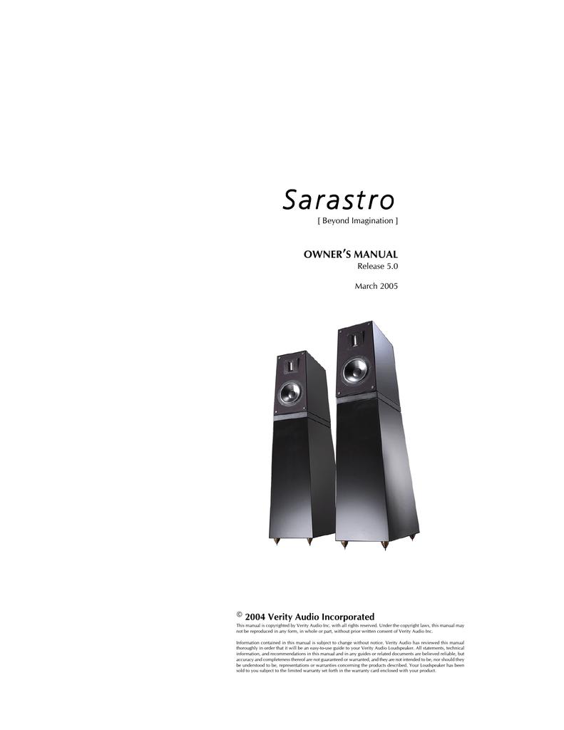 Sarastro - Hificz.cz