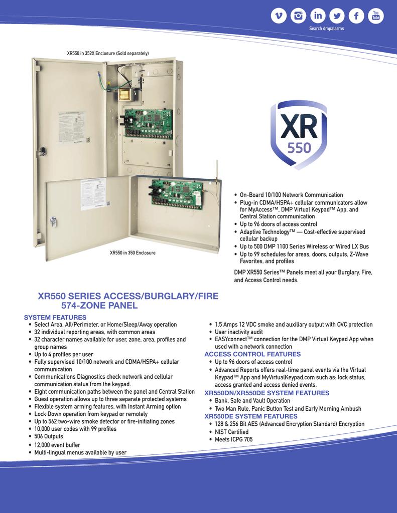 xr550 series access/burglary/fire 574-zone panel | manualzz com