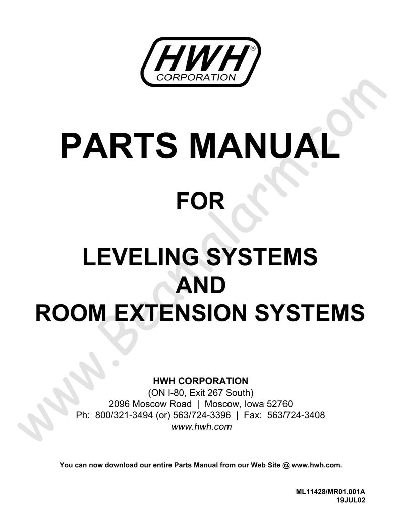 HWH Parts Manual | manualzz com