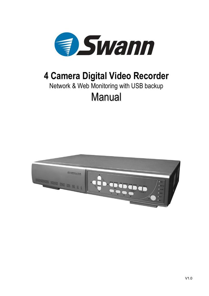 4400 MPEG-4 4 Channel DVR | manualzz com
