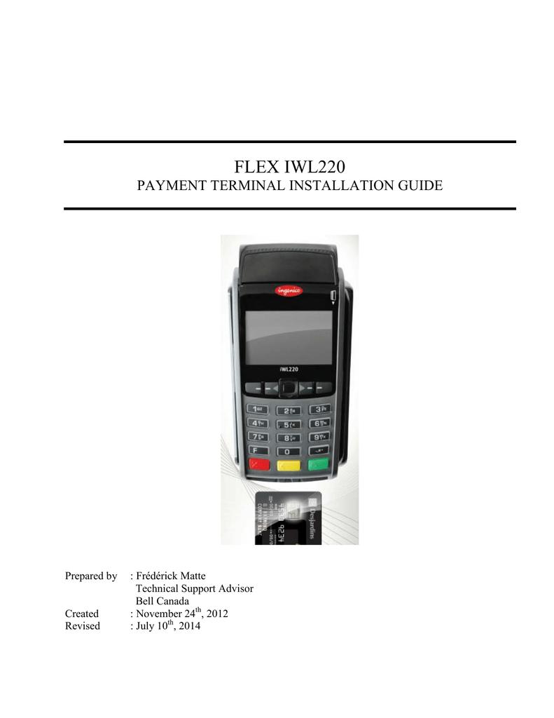 FLEX IWL220 - Partenaires Desjardins | manualzz com