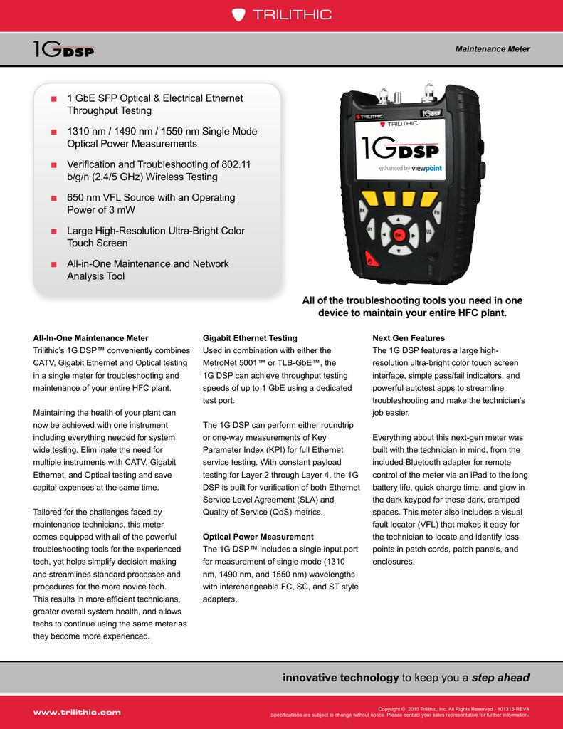 1G DSP Datasheet | manualzz com
