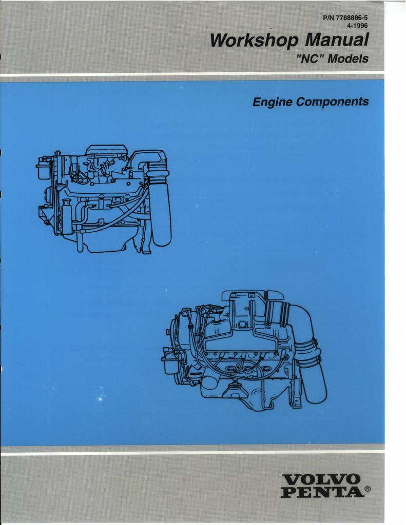 This Volvo Penta Workshop Manual Covers The - Engine   Manualzz   Volvo Penta Md22 Wiring Diagram      manualzz