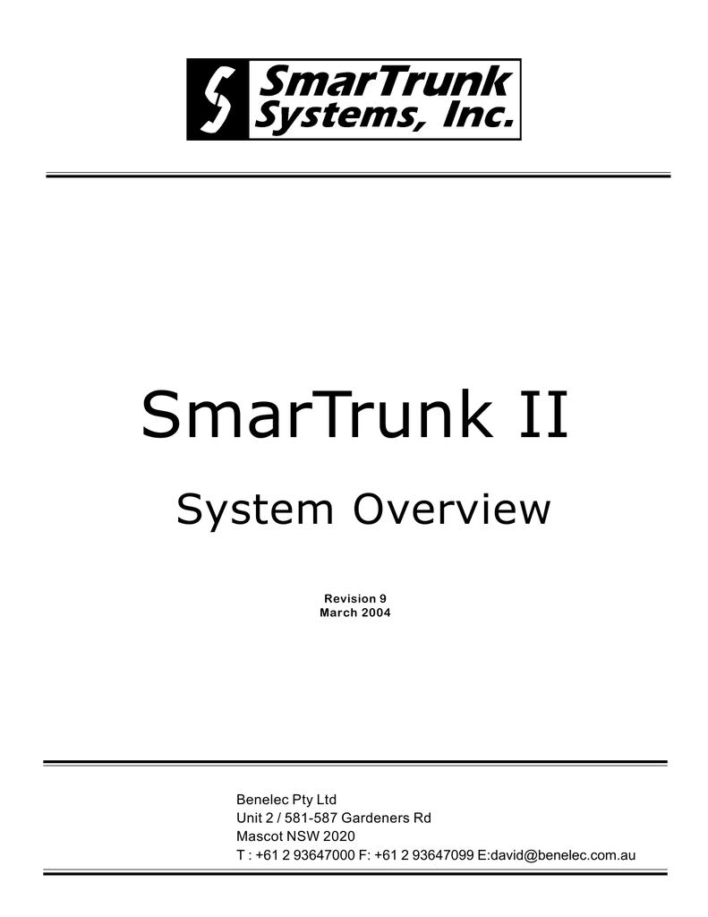 System - Benelec | manualzz com
