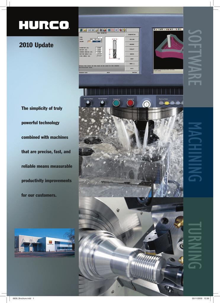 Hurco product catalogue | manualzz com